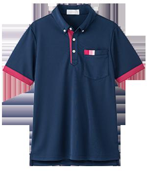 AIK303 半袖ニットシャツ(男女兼用)