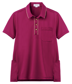AIK307 半袖ニットシャツ(男女兼用)