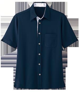 AIY302 半袖ニットシャツ(男女兼用)