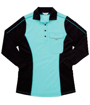 CXK205 レディース長袖ニットシャツ