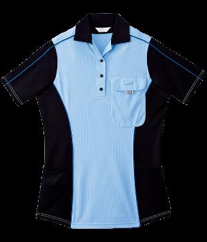 CXK215 レディース半袖ニットシャツ
