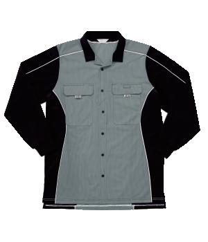 CXK305 長袖Y'sニットシャツ(男女兼用)