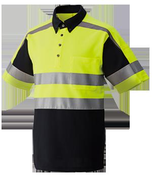 FTK313K 高視認性半袖ニットシャツ(男女兼用)