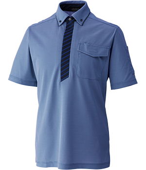 FTK319 半袖ニットシャツ(男女兼用)