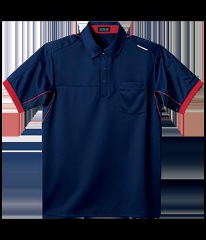 FTK333 半袖ニットシャツ(男女兼用)