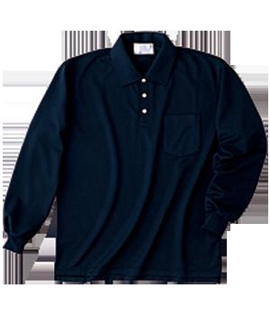 HAK301 長袖ニットシャツ(男女兼用)
