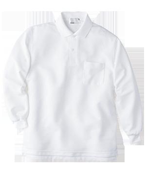 HAK303 長袖ニットシャツ(男女兼用)