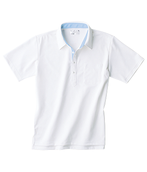 HAK317 半袖ニットシャツ(男女兼用)