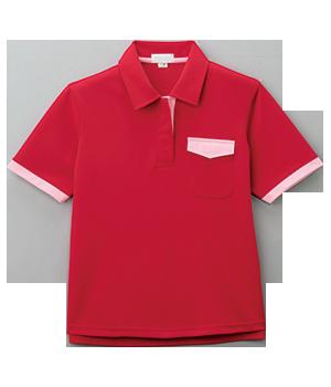 PK271 レディース半袖ニットシャツ