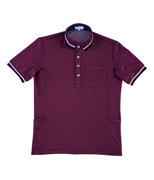 PK374 半袖ニットシャツ(男女兼用)