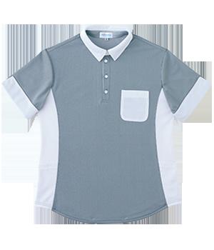 PK377 半袖ニットシャツ(男女兼用)