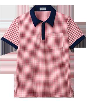 PK394 半袖ニットシャツ(男女兼用)