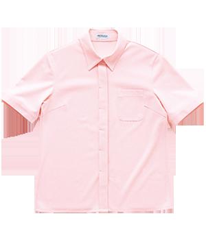 PY210 レディース半袖ニットシャツ